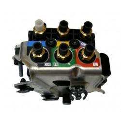 Блок клапанов пневмоподвески (оригинал) для Audi Q7 4M